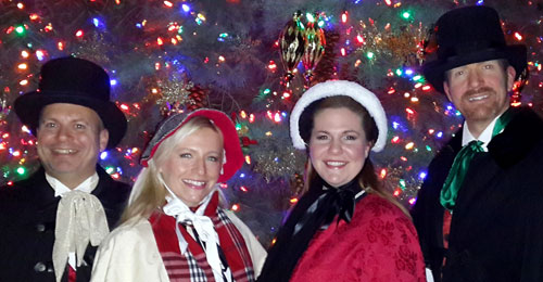 Hire Christmas carolers