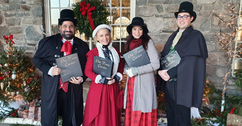 Christmas carolers for hire 2