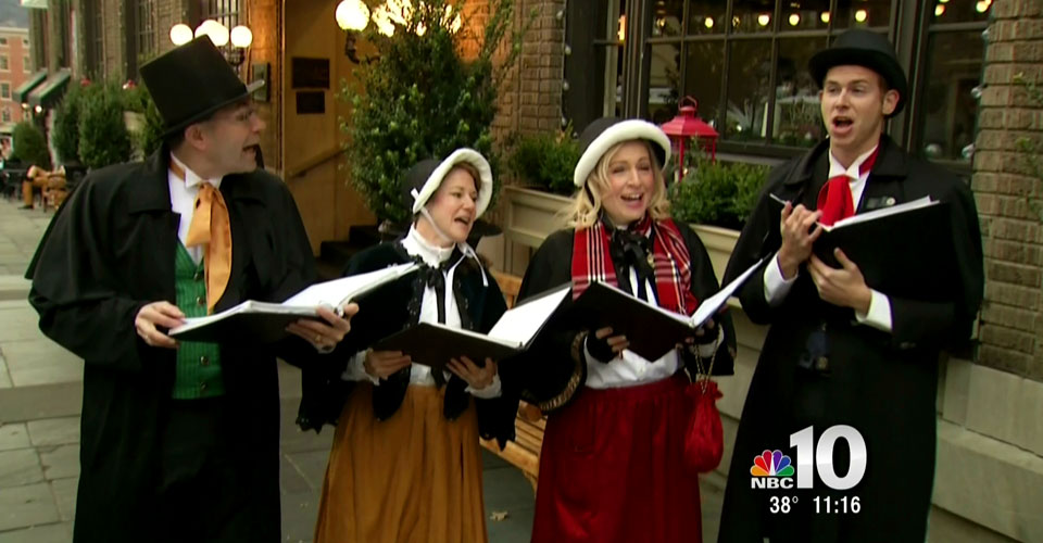Hire Victorian carolers