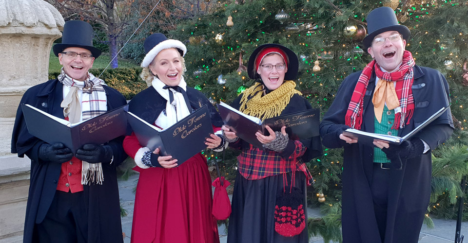 Holiday carolers for hire