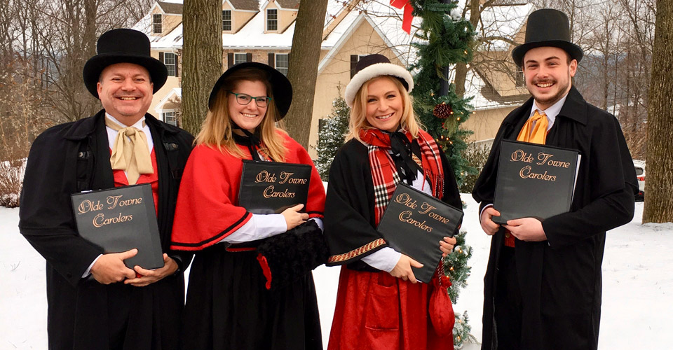 Victorian Christmas Carolers for Hire - Holiday Caroling in PA, NJ